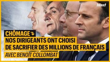 CHÔMAGE : NOS DIRIGEANTS ONT CHOISI DE SACRIFIER DES MILLIONS DE FRANÇAIS