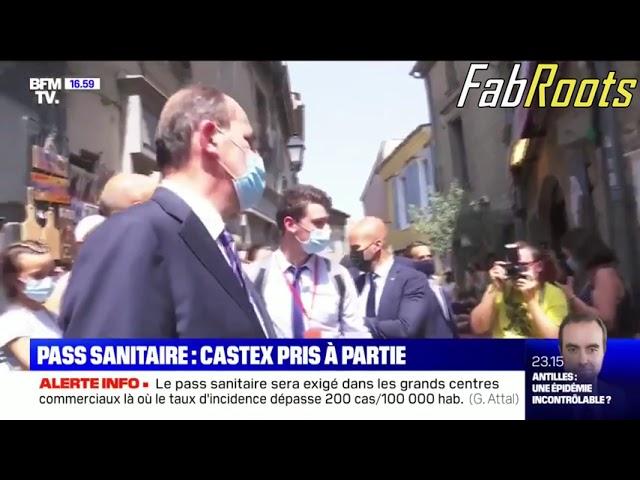 """Jean Castex se fait interpeller par une passante """"Vous tuez la France, Monsieur!"""""""