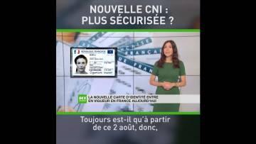 La nouvelle carte d'identité entre en vigueur en France ce 2 août