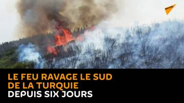 Le feu ravage le sud de la Turquie depuis six jours