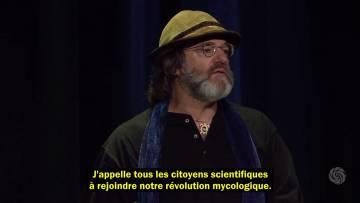 """Paul Stamets – Présentation puissance des champignons – conférence """"Bioneers"""""""