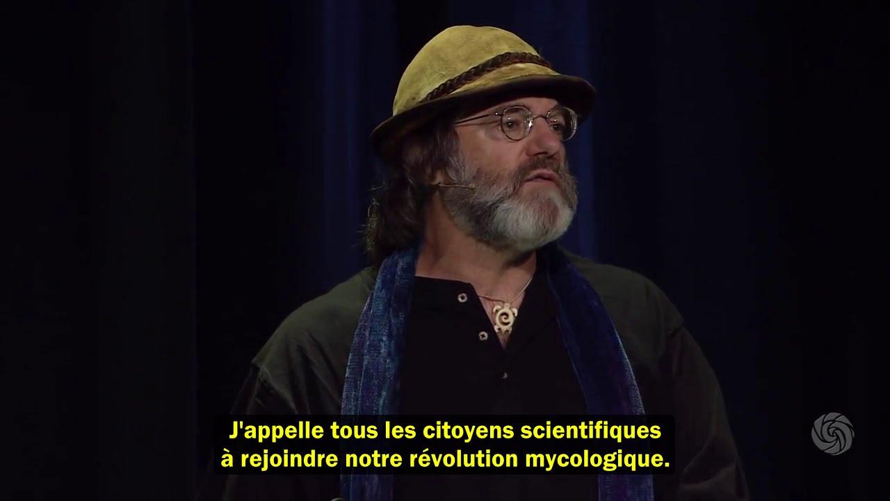 """Paul Stamets – La puissance des champignons – conférence """"Bioneers"""""""