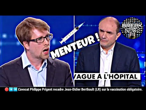 Philippe Prigent recadre Jean-Didier Berthault (LR) sur la vaccination obligatoire