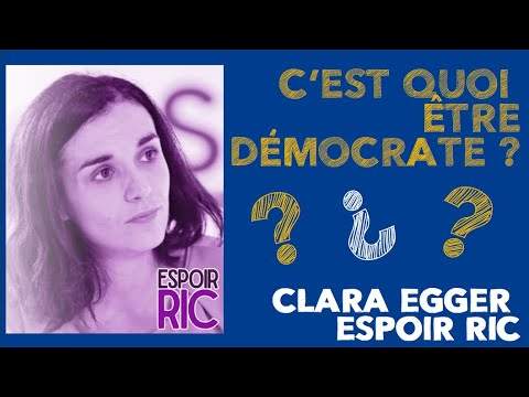 Qu'est-ce la démocratie… selon Clara Egger