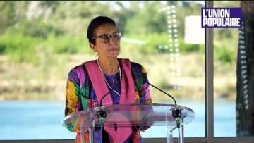2022 : Huguette Bello apporte son soutien à Jean-Luc Mélenchon