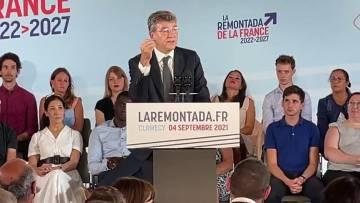 Déclaration de candidature d'Arnaud Montebourg