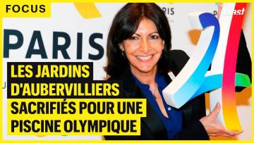 LES JARDINS D'AUBERVILLIERS SACRIFIÉS POUR UNE PISCINE OLYMPIQUE