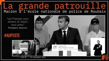 Macron, la #police, ses annonces (au Beauvau de la Sécurité)