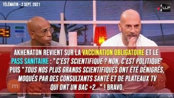 Shurik'en et Akhenaton dénoncent la vaccination obligatoire et le pass sanitaire