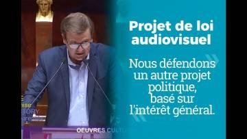 Audiovisuel public : nous défendons un autre projet politique, basé sur l'intérêt général