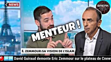 David Guiraud démonte Éric Zemmour et son idéologie