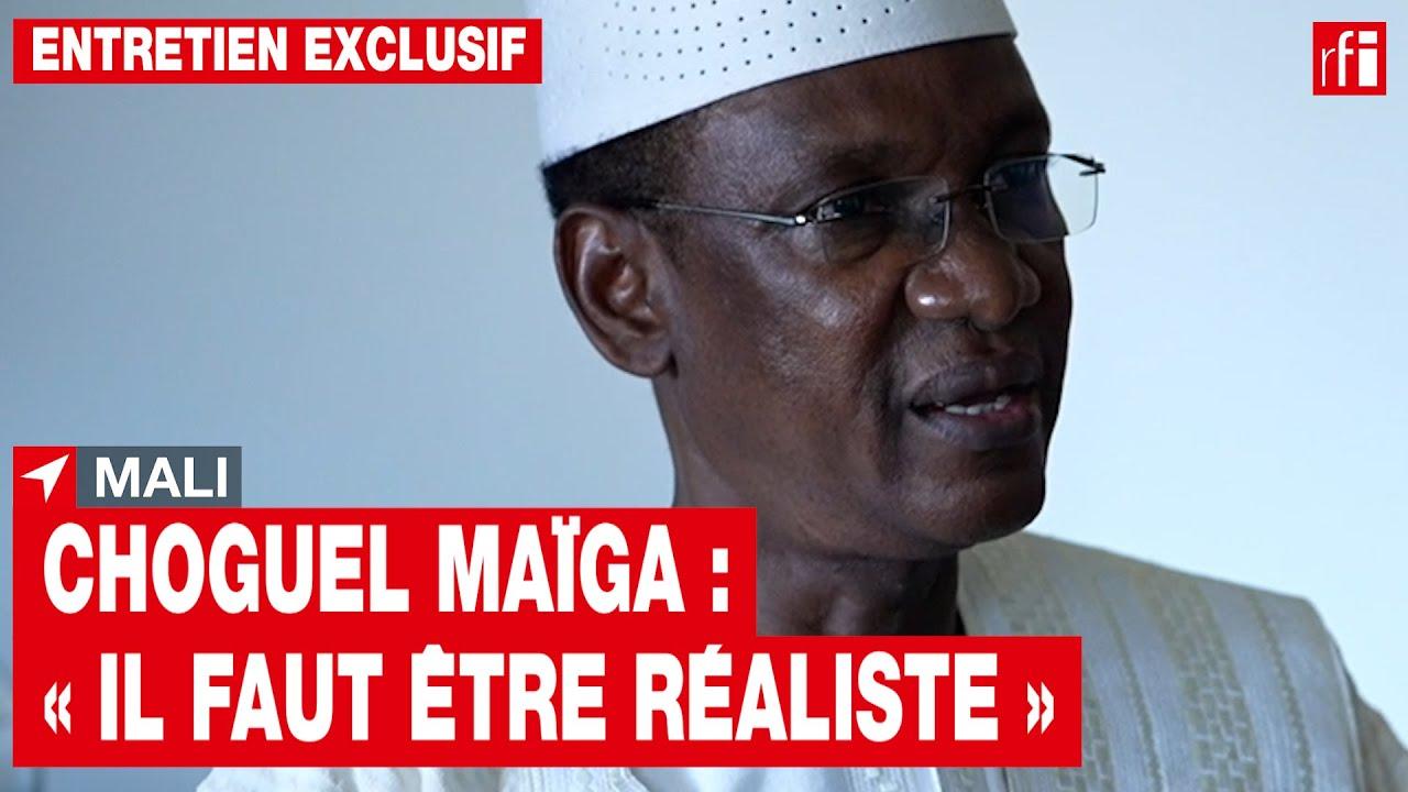 Mali – Choguel Maïga : « Il faut être réaliste »