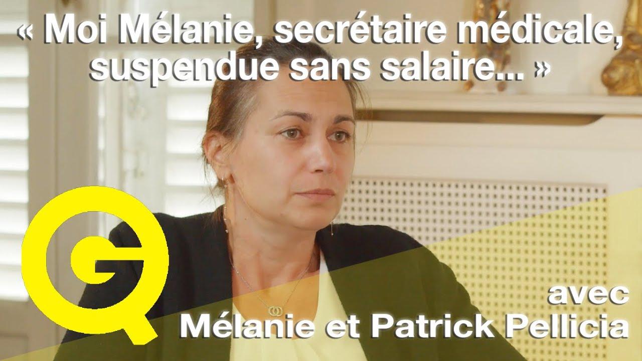 «Moi Mélanie, secrétaire médicale, suspendue sans salaire…» – Quartier Jaune