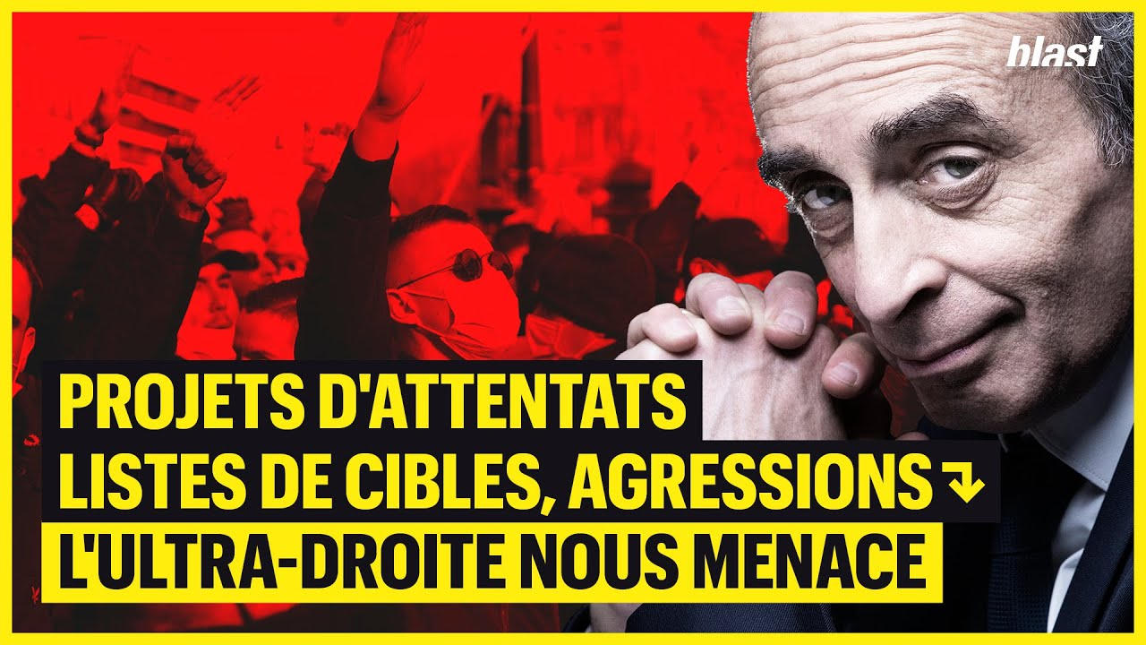PROJETS D'ATTENTATS, LISTES DE CIBLES, AGRESSIONS : L'ULTRA-DROITE NOUS MENACE